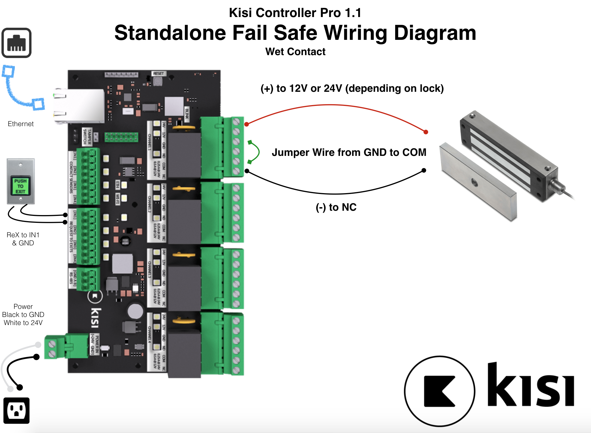Standalone Fail Safe Electric Lock Kisi 485 Wiring Connection Diagram Screen Shot 2018 08 24 At 93312 Am