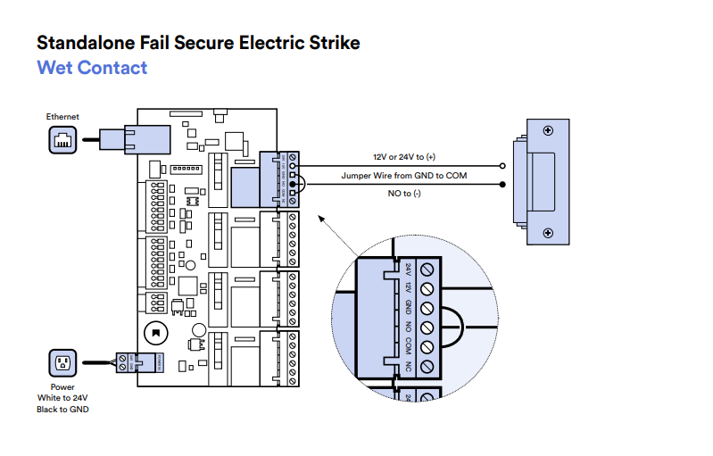 Electric Strike Lock Wiring Diagram from help.kisi.io